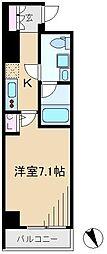 ビーシティ田端スカイコート[2階]の間取り