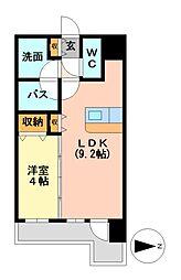 マストスタイル東別院[2階]の間取り