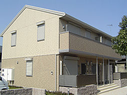 京都府久世郡久御山町田井荒見丁目の賃貸アパートの外観