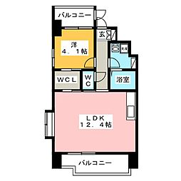 sho style HAKATA[7階]の間取り