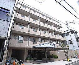 京都府京都市上京区東辰巳町の賃貸マンションの外観