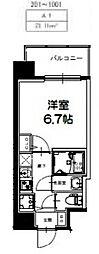 S-RESIDENCE新大阪Ridente[901号室号室]の間取り