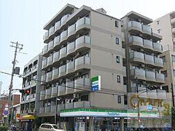 大阪府大阪市住吉区長居4の賃貸マンションの外観