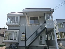 北海道札幌市東区北三十八条東21丁目の賃貸アパートの外観