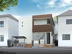 埼玉県さいたま市北区今羽町の賃貸アパートの外観