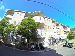 大阪府池田市旭丘3丁目の賃貸マンションの外観