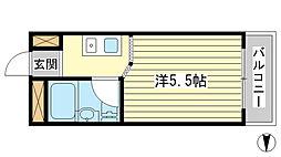 サンワプラザ福崎I[106号室]の間取り