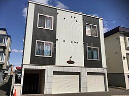 北海道札幌市白石区栄通21丁目の賃貸アパートの外観