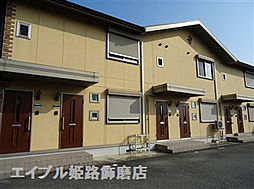 兵庫県姫路市御立東3丁目の賃貸アパートの外観