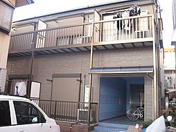 神奈川県川崎市中原区下小田中3丁目の賃貸アパートの外観