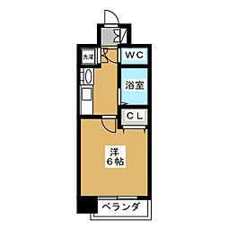 プレサンス京都御所東[10階]の間取り