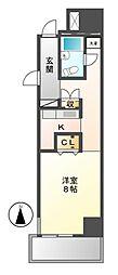 レジディア東桜II[2階]の間取り