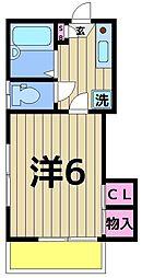 セピア88[101号室]の間取り