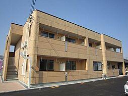 岡山県岡山市北区青江2丁目の賃貸アパートの外観
