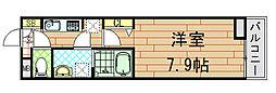 ル・クール[3階]の間取り