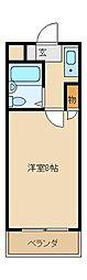 スタジオLH[3階]の間取り