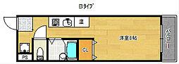 セラ玉出[4階]の間取り