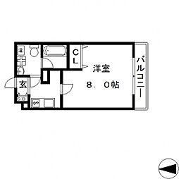 Ritz小阪(リッツ小阪)[401号室号室]の間取り
