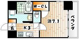 プロトシティ戸畑[2階]の間取り