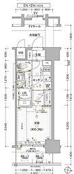 エスリードKYOUBASHIセントラル[15階]の間取り