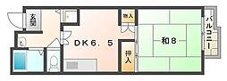 千山マンションII[1階]の間取り