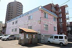 北海道札幌市中央区北一条西21丁目の賃貸アパートの外観