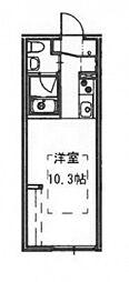 エストレビータ草津II[1階]の間取り