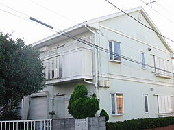 茨城県つくば市二の宮2丁目の賃貸アパートの外観
