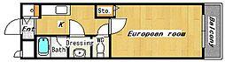 ル・クレール[2階]の間取り