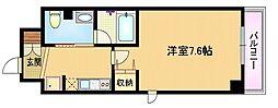 Osaka Metro谷町線 都島駅 徒歩10分の賃貸マンション 9階1Kの間取り