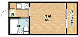 LeA・LeA ツーラブシティー[7階]の間取り