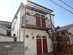 愛媛県松山市古川西3丁目の賃貸アパートの外観
