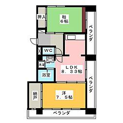 第2佐久間ビル[4階]の間取り