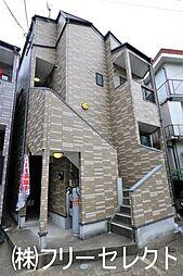 福岡県福岡市博多区住吉3の賃貸アパートの外観