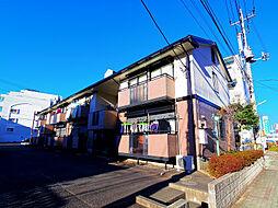 埼玉県ふじみ野市市沢2丁目の賃貸アパートの外観