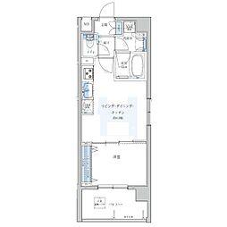 Portside Urban Residence[601号室]の間取り