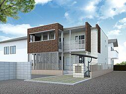 埼玉県川口市末広3丁目の賃貸アパートの外観