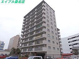 三重県桑名市中央町1丁目の賃貸マンションの外観
