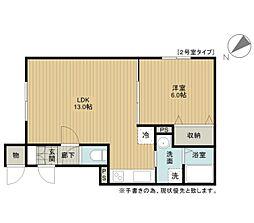 緑町新築アパートB棟[1階]の間取り