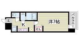 LAV☆神戸三宮[15階]の間取り