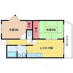 プライム新大阪[5階]の間取り