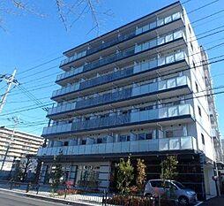 埼玉県川口市南鳩ヶ谷5丁目の賃貸マンションの外観