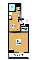 エスポワール湘南台[1階]の間取り
