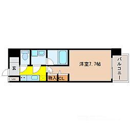 Splendid MikuniI(スプランディッド三国I)[5階]の間取り