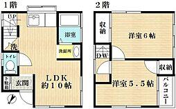 [一戸建] 東京都江戸川区西瑞江5丁目 の賃貸【/】の間取り