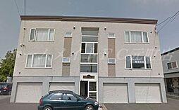 北海道札幌市東区北三十四条東28丁目の賃貸アパートの外観