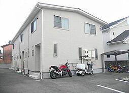 兵庫県姫路市鷹匠町の賃貸アパートの外観