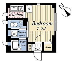 (仮称)東池袋2丁目マンション[2階]の間取り