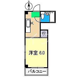 シングルハイツII[3階]の間取り