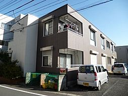 東京都八王子市散田町1丁目の賃貸アパートの外観